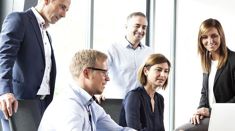 Mitarbeiter-Team von CSL Behring in Marburg
